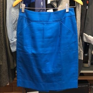 """J CREW """"The Pencil Skirt"""" Size 00"""